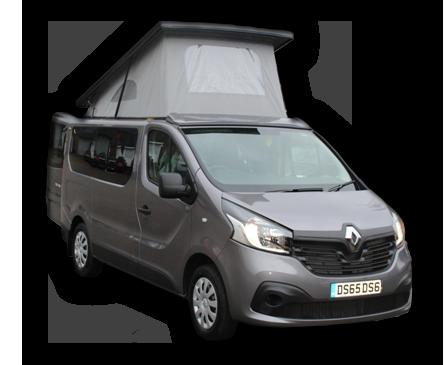Renault mater camper conversion